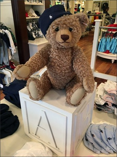 Polo Ralph Lauren Teddy Bear Prop