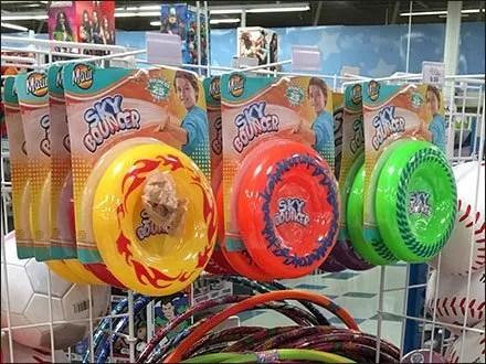 Sky Bouncer Flying Disk Merchandising