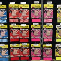 Wrist Band Pick Card Wall Scan Hooks