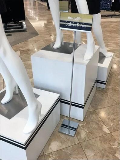Calvin Klein Pinstriped Pedestals 2