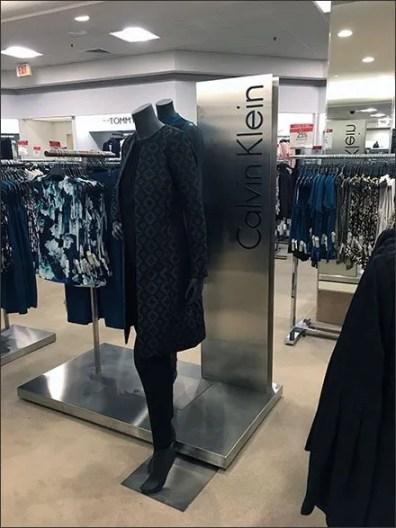 Calvin Klein Stainless Steel Upright Branding