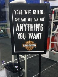 You Can Buy Anything Harley-Davidson You Want