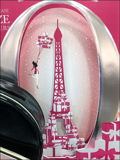 Lancome Die-Cut Eiffel Tower Effigy