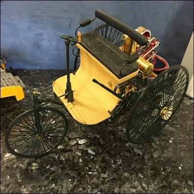 Miniature Vintage Desktop Model at Mercedes Benz
