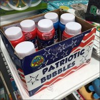Patriotic Bubbles By The Case Feature
