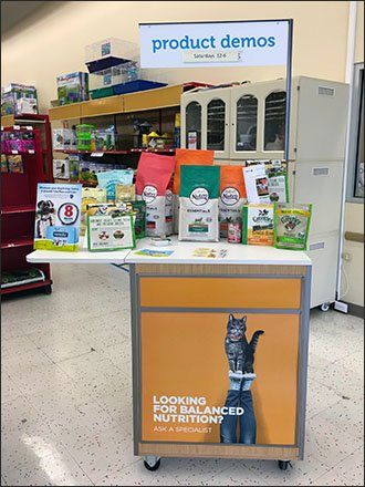Mobile Demo Station for Pet Products