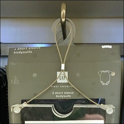 Piano Wire Hang Tag Mount For Hooks Feature