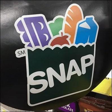 SNAP and EBT Card Shelf Edge Flag Feature