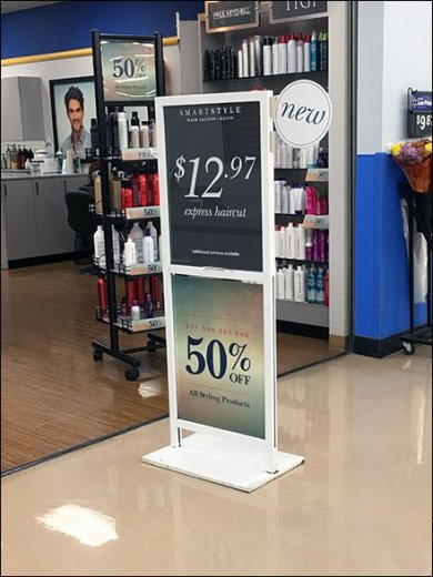 Salon Express Haircut Signage Specials