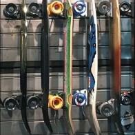 Zumiez Skateboards Sideways On Slatwall