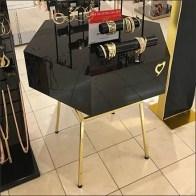 Hexagonal Table Display By Thalia Sodi