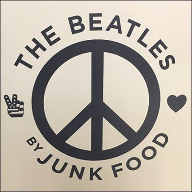 The Beatles Junk Food Apparel Rack