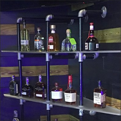 Viva Farms Do-It-Yourself Pipe Shelving