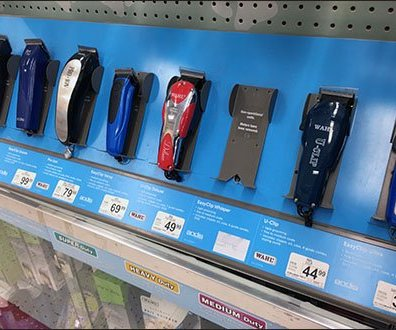 Wahl Pet Clipper Display Anti-Theft Strategy