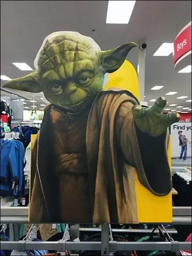Yoda Foamcore Stare Down 2