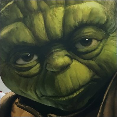 Yoda Foamcore Stare Down Feature