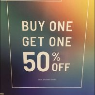 Zumiez Unlimited Mix & Match BOGO Sign