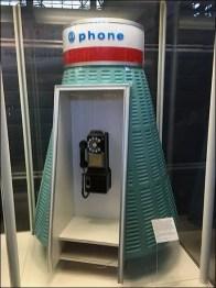 Mercury Space Capsule Payphone Design