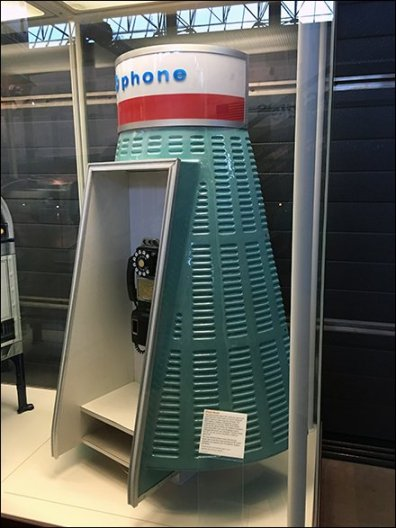 Mercury Space Capsule Payphone Design