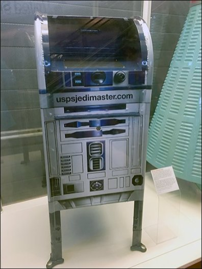 United States Postal Service R2D2 Mailbox