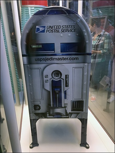 United States Postal Style R2D2