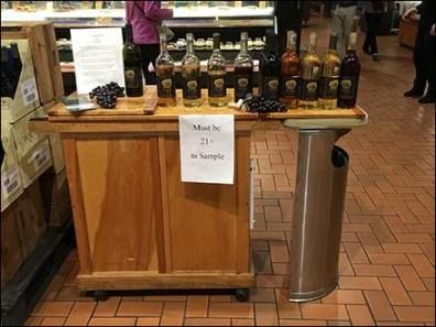 Alcohol Sampling Age Restriction Applies