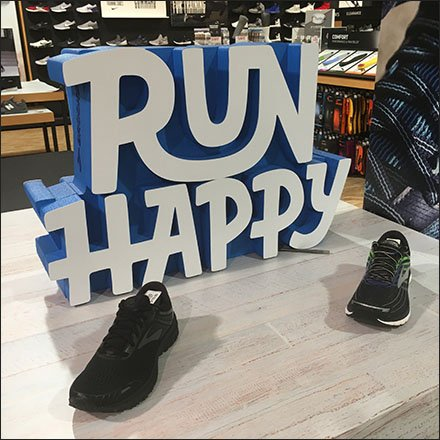 Brook's Run Happy Table Top Shoe Display
