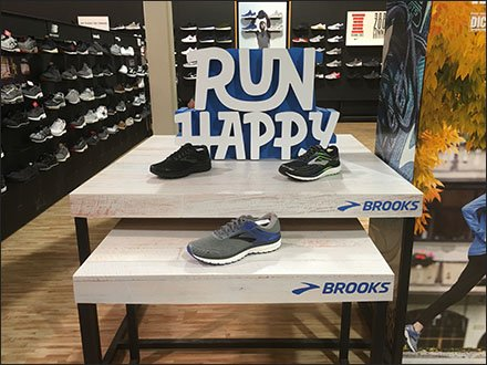 Brook's Run Happy Table Top Shoe Display