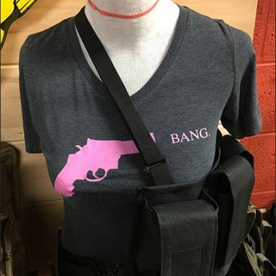 Bang Women T-Shirt and Ammo Belt