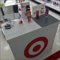 Target Branded Cosmetics Sampling Station