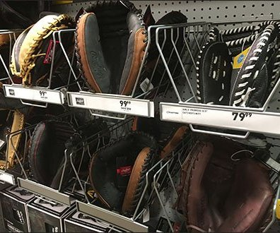 Catcher's Mitts Pegboard Trays At Dick's