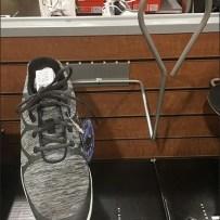 Dick's Slatwall Wireform Shoe Displayer