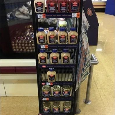 Dietz & Watson Condiments Rack 1