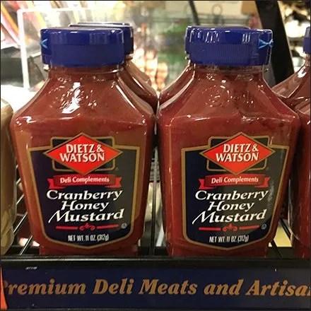Small Dietz & Watson Condiments Rack