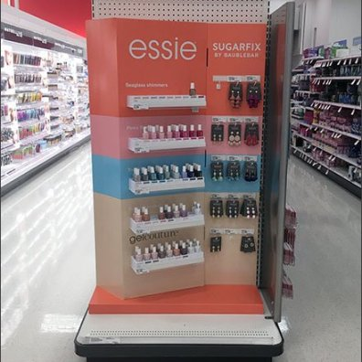 Essie Nail Polish Small Shelf Display