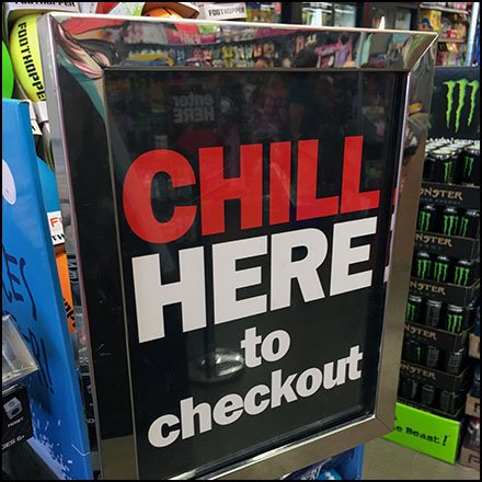 Chill Here Checkout Queue Communique