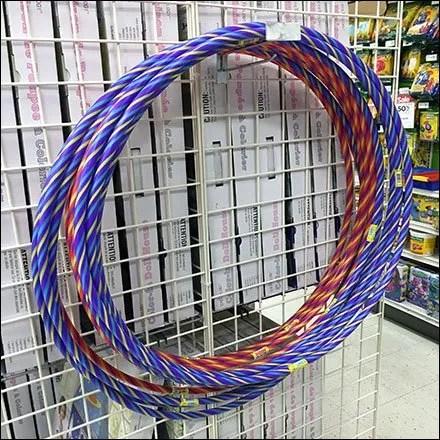 Hula Hoop Gridwall Hook Merchandising