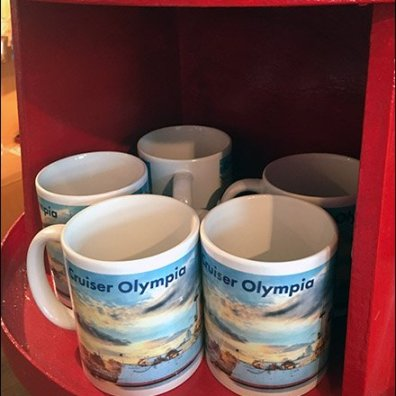 Towering Lighthouse Mug Merchandising
