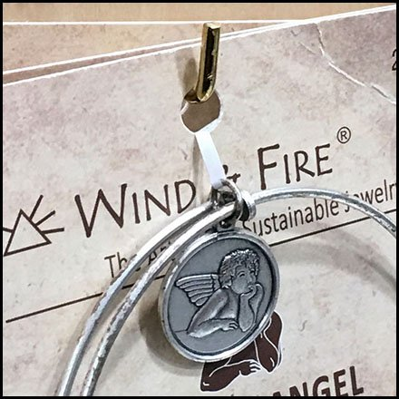 Wind & Fire Retail Fixtures - Wind & Fire 90º Tip Display Hook