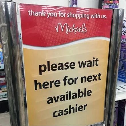 Wait For Next Cashier Queue Management