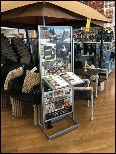 Patio Furniture Catalog Sales In-Store