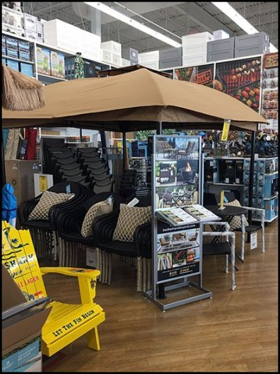 Patio Furniture Catalog Sales In-Store