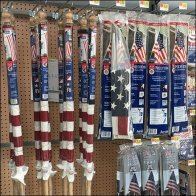 Patriotic Paraphernalia Twin Gondola Display