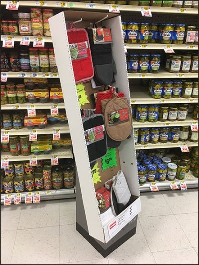 Pot Holder and Oven Mitt In-Aisle Specials