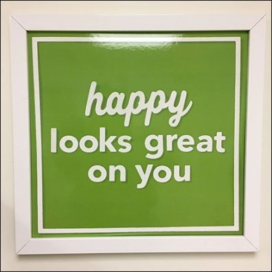Positive Restroom Affirmations in Retail