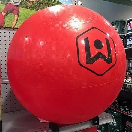 Wicked Big Kickball On-Shelf Magnetic Display