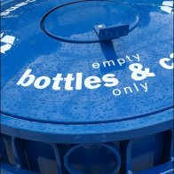 Aerospace Museum Bottle and Can Recycling