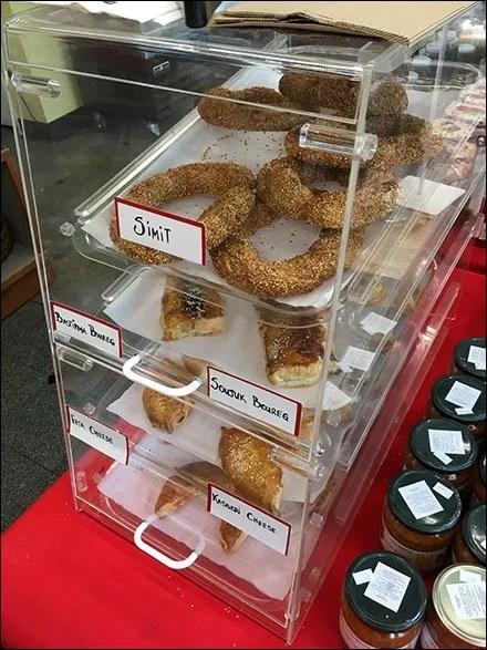 Armenian Gourmet Bakery Cabinet In Clear Acrylic