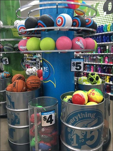 Bulk Bin Barrel Ball Display Overview