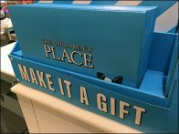 Children's Place Gift Box Merchandising